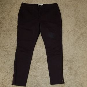 Mudd Deep Plum Stretch Skinny Jeggings
